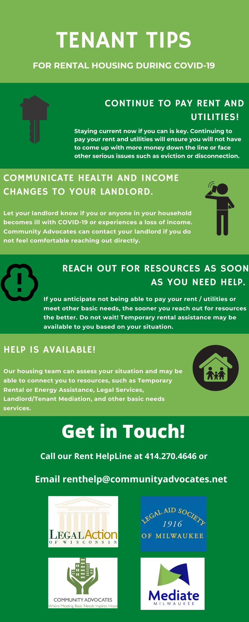 Safer at Home Tenant Tips